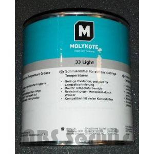 Molykote 33 light  1kg Wodoodporny smar silikonowy