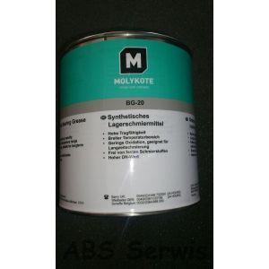 Molykote BG 20 1kg smar szybkoobrotowy