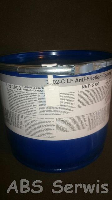 sucha powłoka przeciwtarciowa molykote 3402C LF