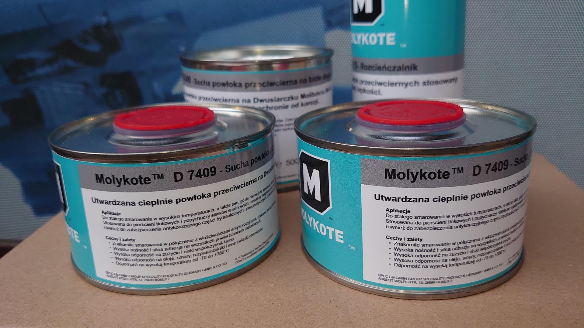 Molyktoe 7409 powłoka na tłoki
