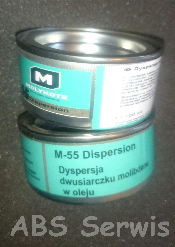 Molykote M 55 Plus  dyspersja dwusiarczku molibdenu